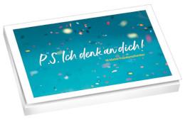 Postkartenbuch P S Ich Denk An Dich Willow Shop